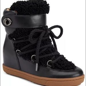 Coach Monroe Shearling Snow Boots